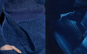 Blue Sweater and Color Inspiration